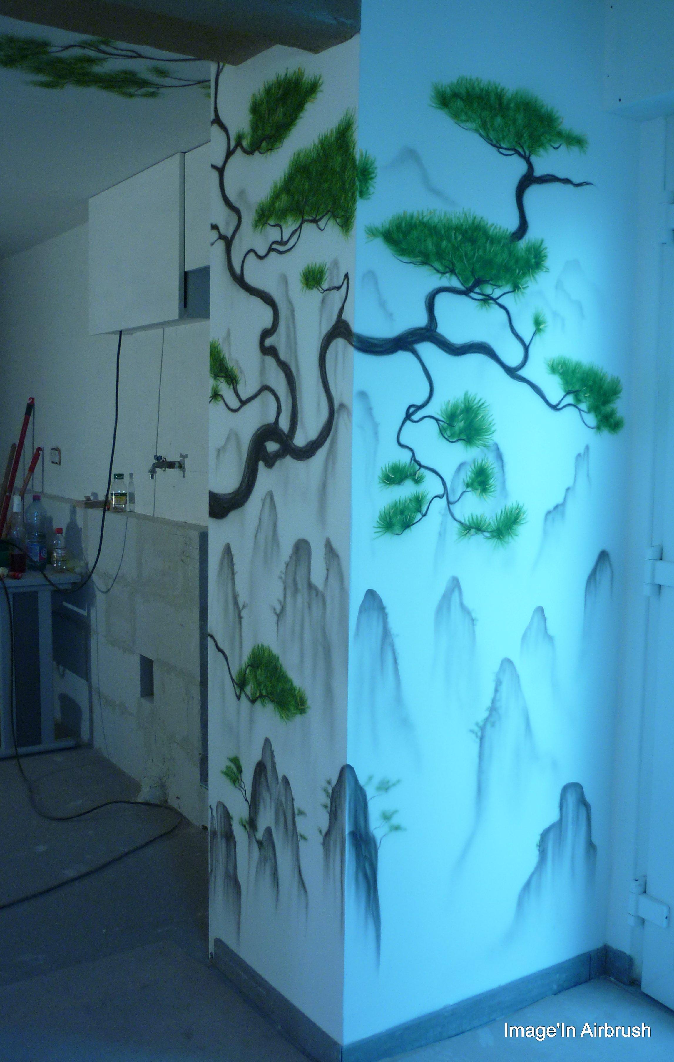 décor mural pour séjour.