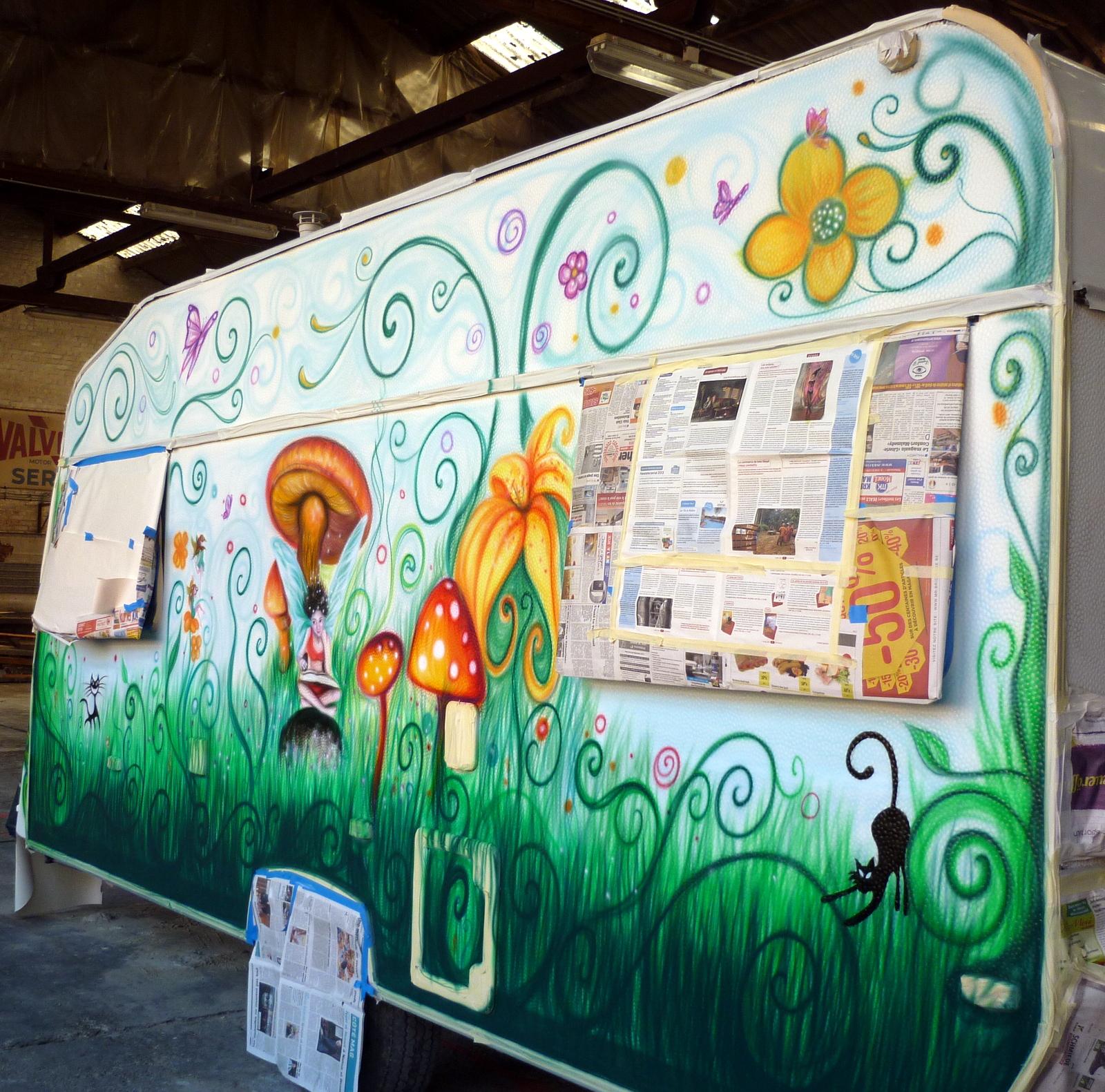 custom caravane