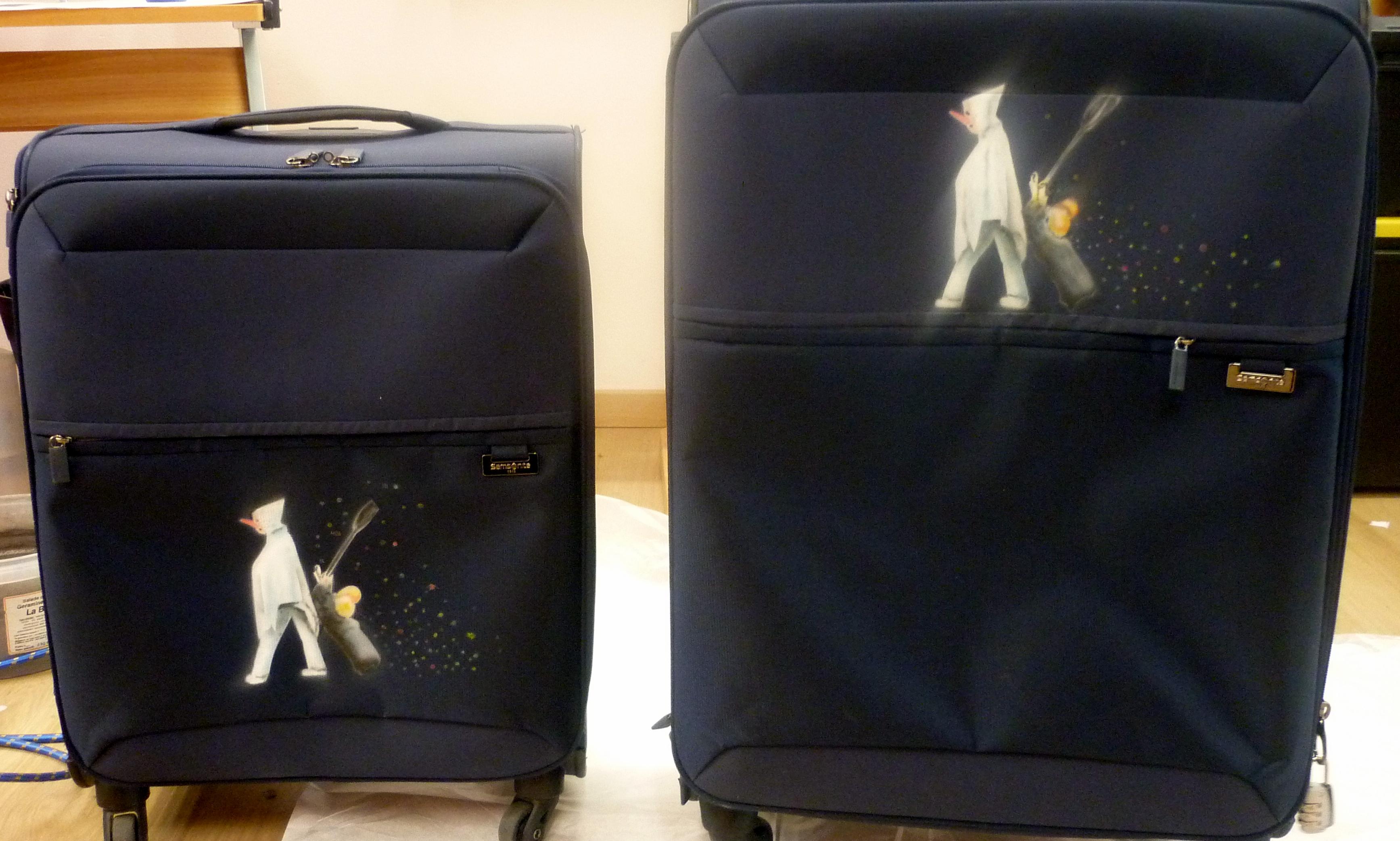 custom valises