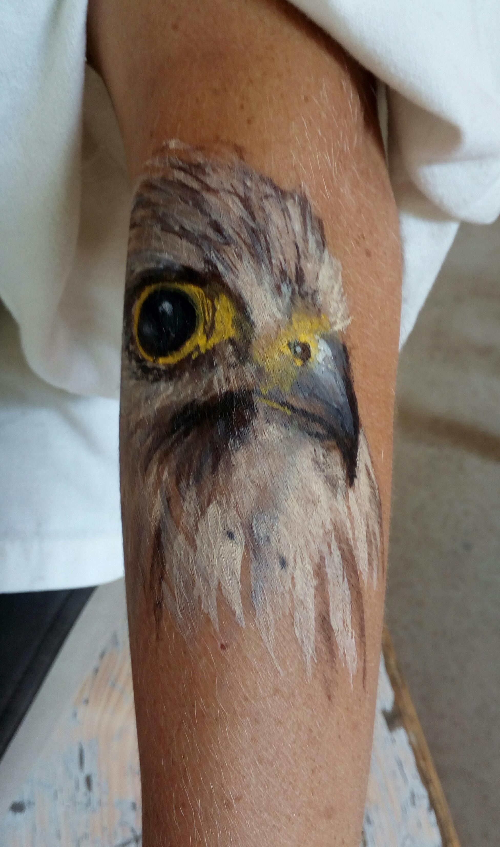 Grimages et tatouages temporaire