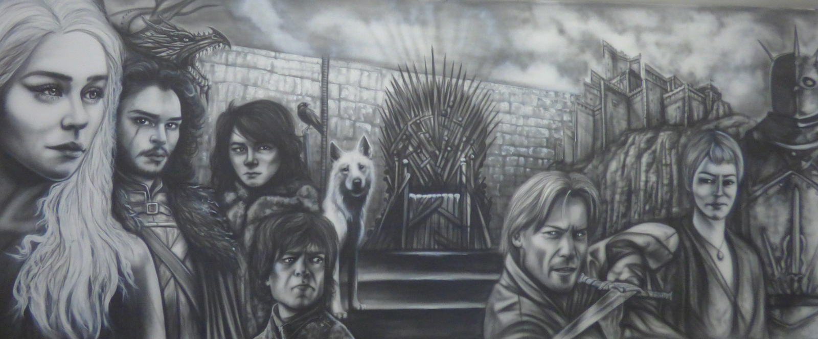 fresque Game of thrones