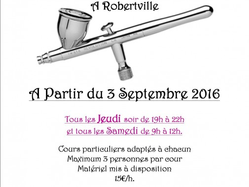 initiation et cours airbrush