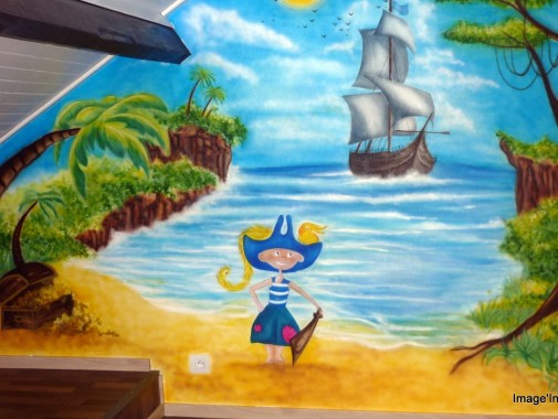 Décor mural chambre d'enfant
