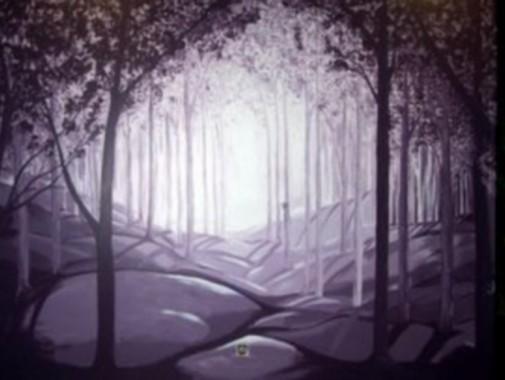 Acrylique et pinceau
